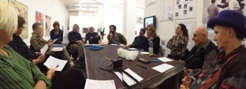 Konversationsrunde zum Thema Zweifel am 26.10. 2013 im Kunsthaus Hamburg