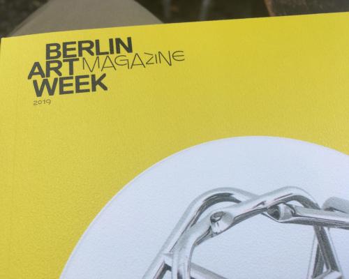 Berlin Artweek Zum Glück verpasst....