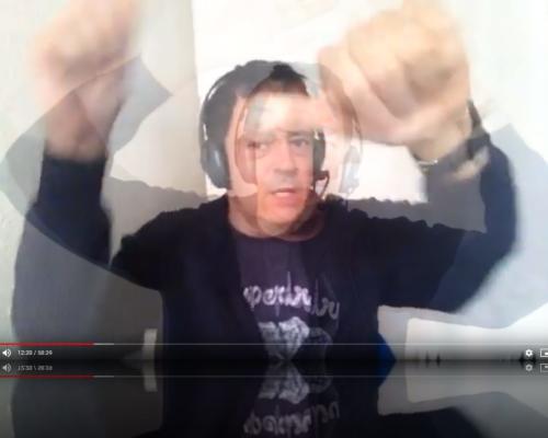Selbstagitativ auf Sendung bei Das Seminar auf Radio X live aus Hamburg