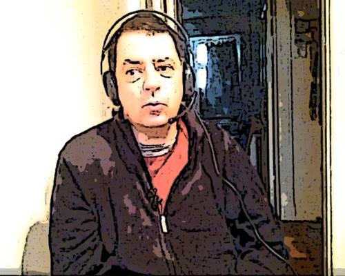 Selbst im Lager-Raum auf Sendung bei Radio X