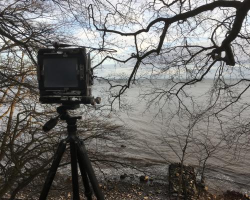 Kamera am Meer (Ostsee) bei Skjoltrup