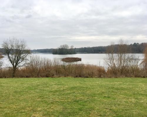 Öjendorfer See, winterlich