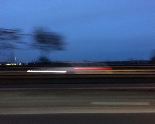 Berlin Tempelhof. Auf dem Weg zur Kirche in Neukölln