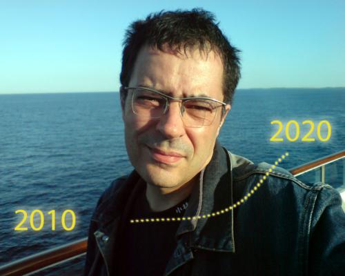 Auf dem Weg über die Ostsee nach Dänemark, 3.6. 2010