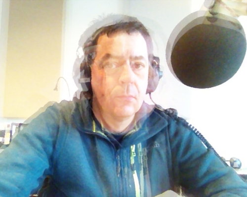 Auf Sendung. Selbst im Studio 1 von Radio X, 10.1. 2020