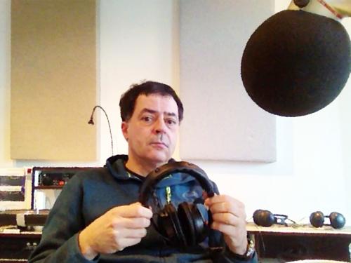 Selbst im Studio 1 von Radio X