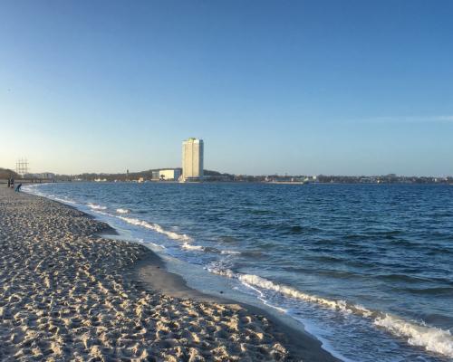 Am Strand von Priwall, Travemünde