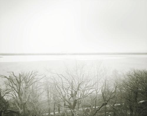 Ausblick auf die Elbe, bei Blankenese