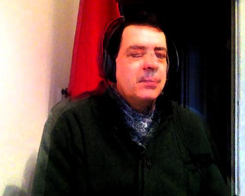 Selbst im Küchenstudio auf Sendung für Das Seminar auf Radio X