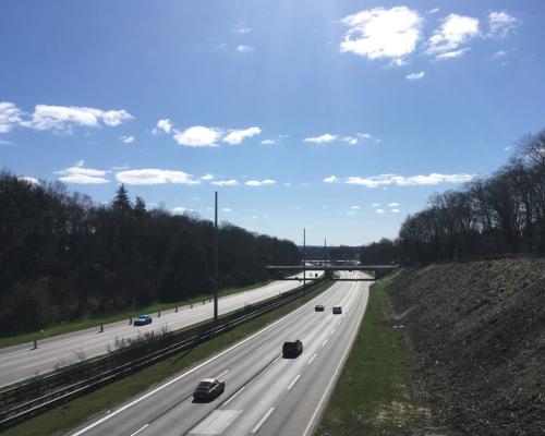 Autobahn A7 bei Lurup