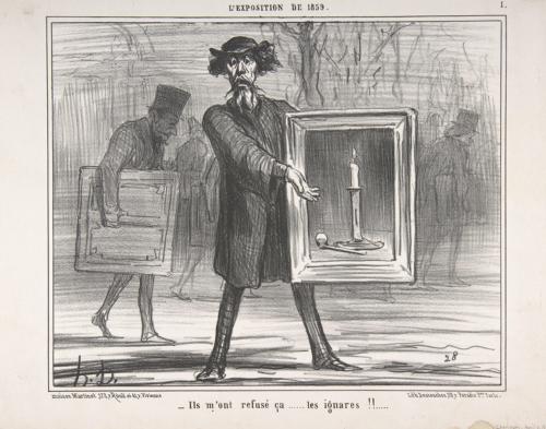 Honoré Daumier, Der Zurückgewiesene