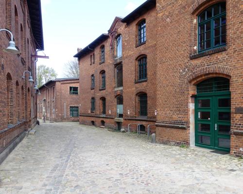 Passage auf dem Areal Königliches Proviantamt zu Altona in Hamburg Bahrenfeld