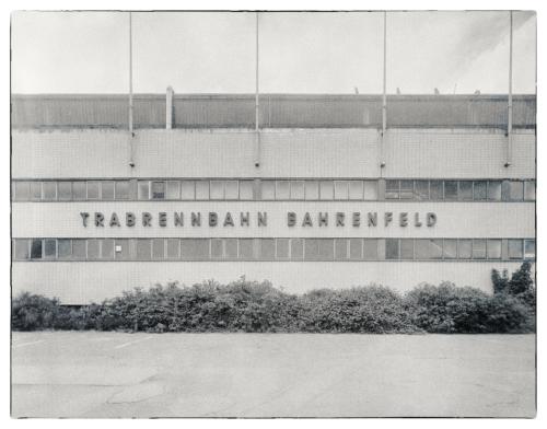 Trabrennbahn Bahrenfeld Hauptgebäude Tribühne