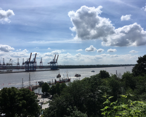 Elbe bei Neumühlen
