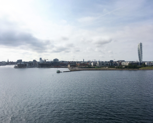 Ankunft in Malmö