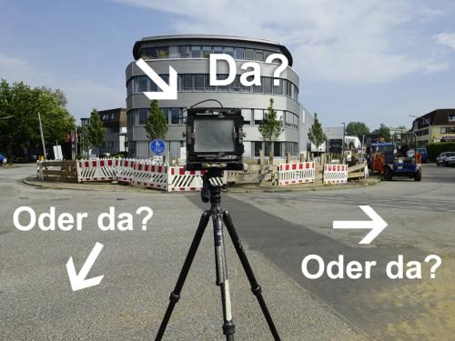 Wo sollte man die Kamera aufstellen?
