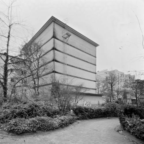 Bunker Behringstraße Hamburg Altona. Aufnahme im analogen Großformat 4x5 auf Röntgenfilm