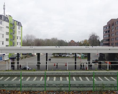 Am Bahnhof Stellingen, Hamburg