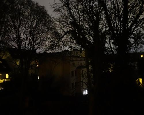 Neujahr 2021 in Hamburg Altona ohne Feuerwerk