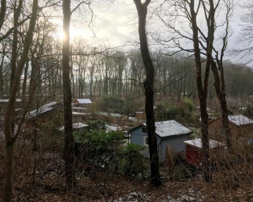 Ethnografisches Forschungsdorf (Birkenschlucht, Volkspark Altona)