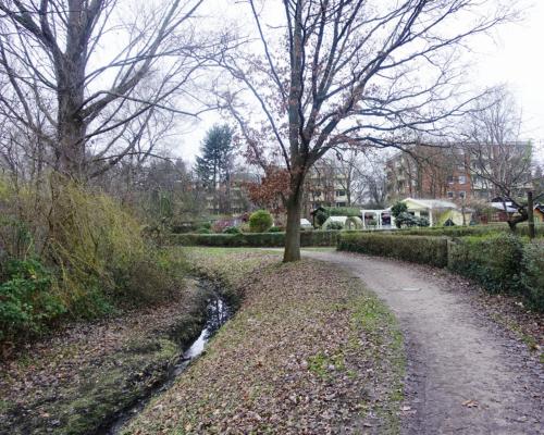 Kleingartenanlage in Hamburg Stellingen