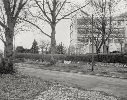 Am Hogenfeldweg (oberer Abschnitt) in Hamburg Bahrenfeld