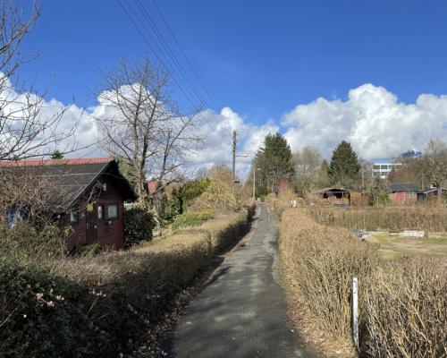 Kleingarten am Holstenkamp in Hamburg Bahrenfeld