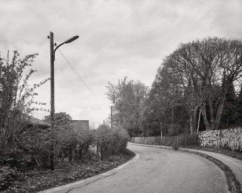Am Diebsteichweg in Bahrenfeld. Aufnahme im Format 4x5 auf Kodak Ektapan.