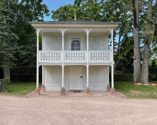Teehaus der Großherzogin Wilhelmine von 1820, Rosenhöhe Darmstadt
