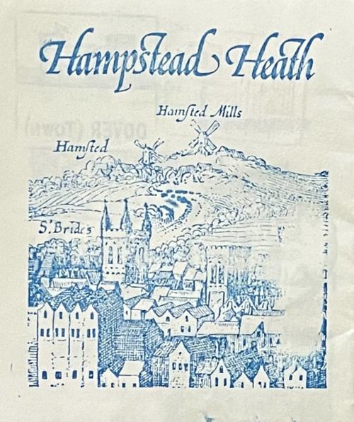 Stempel JH London Hampstead Heath 1981