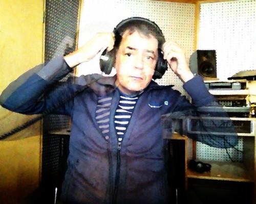 Selbst im Studio 2 von Radio X